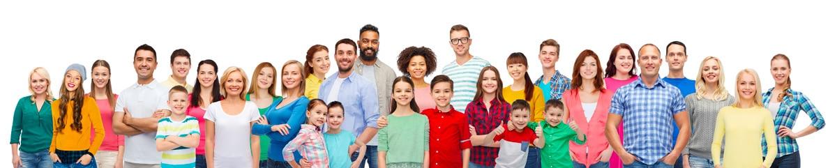 Les besoins de linge sec d'une famille très nombreuse