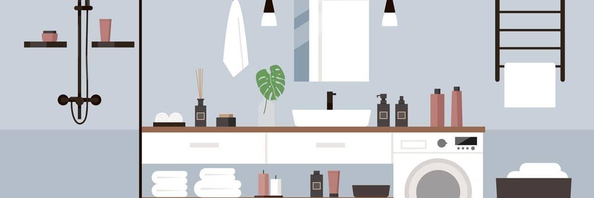 Pour les petits espaces intérieurs, pensez aux mini sèche-linge