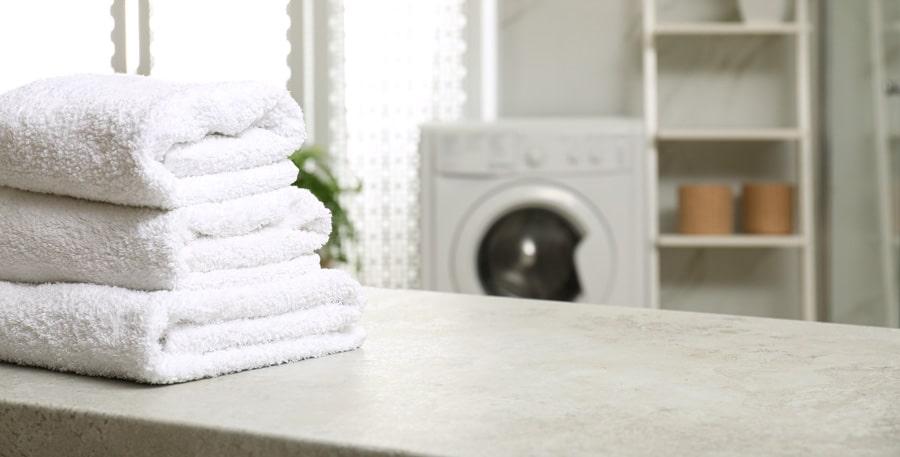 La qualité des serviettes est préservée avec un sèche linge adapté