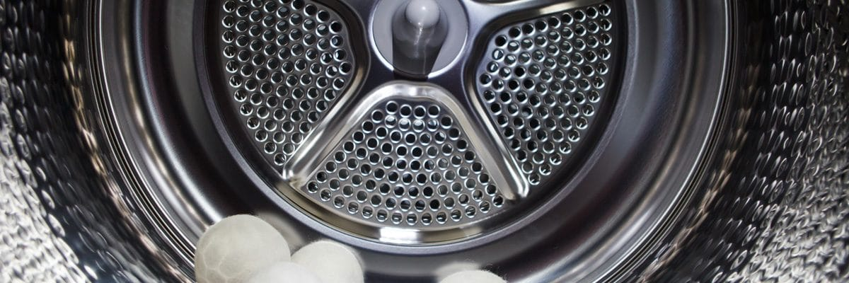à l'intérieur d'un tambour de sèche linge à condensation