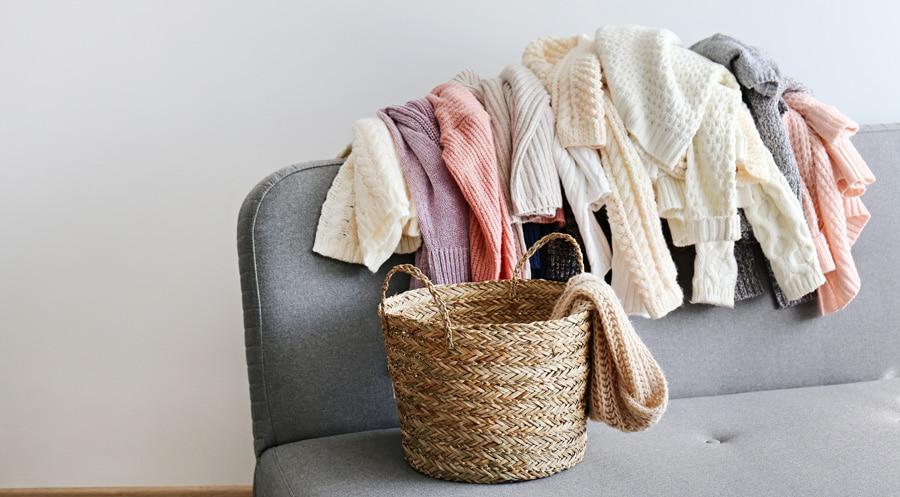 la laine et les vêtements à maille peuvent rétrécir dans un sèche-linge Choisissez le bon programme !